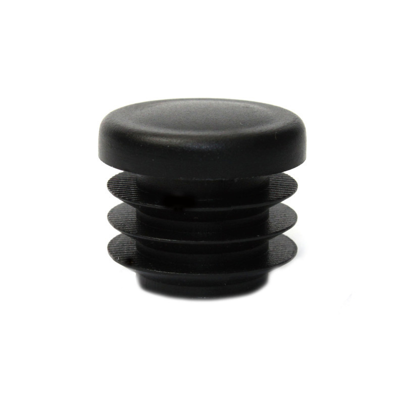 Round Chair Tip Insert Plug - Ribbed - 3/4'' Diameter Tube