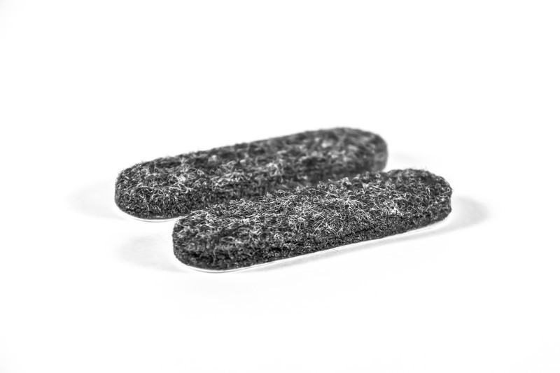 SuperFelt™ - Sled Base Replacement Felt - 1/2'' Wide  x  1 7/8'' Long for Glides & Furniture